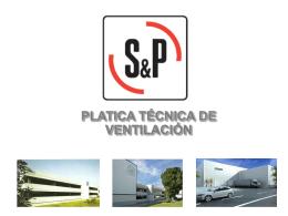 platica técnica de ventilación