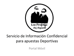 Portal Movil Datos