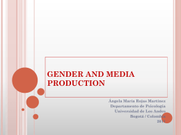 Gender and Production