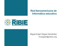 Red Iberoamericana de Informática educativa