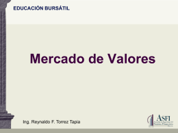 Educacion Bursatil para Empresarios 2014