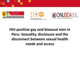 diagnóstico del acceso a servicios y programas de prevención y de