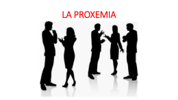 LA PROXEMIA - cali educa digital