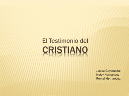 diapositivas - Iglesia Cristiana Alfa y Omega