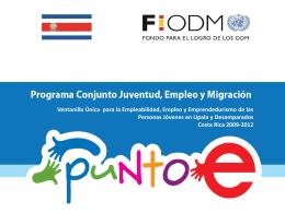 Diapositiva 1 - El PNUD en Costa Rica