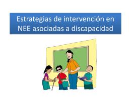 ESTRATEGIAS DE INTERVENCIÓN EN PERSONAS CON