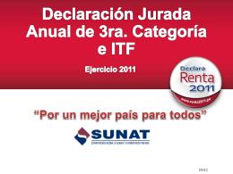 declaración jurada anual de personas naturales formulario virtual n