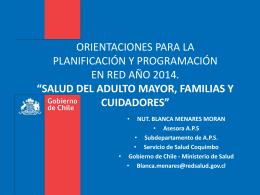 4. Adulto Mayor - Servicio de Salud Coquimbo