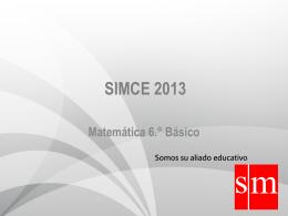 SIMCE 2013 MATEMÁTICA