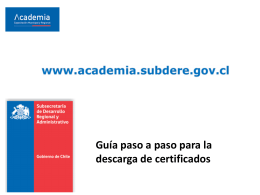 Manual Descarga Certificados
