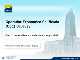 Presentación OEC - Asociacion de Despachantes de Aduana del