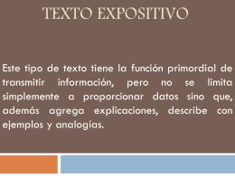 Texto Expositivo 2