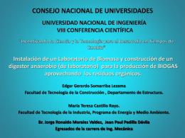 p10 - Universidad Nacional de Ingeniería