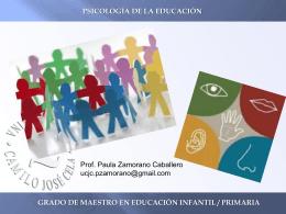 Tema 4. Psicología de la Educación_Paula