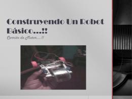 Construyendo Un Robot Básico - Over-blog