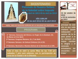 Abril, mes de Nuestra Señora de la Soledad en Irapuato