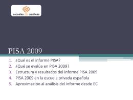 PPT - PISA 2009