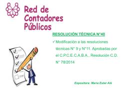 RT 11 - Red De Contadores Publicos