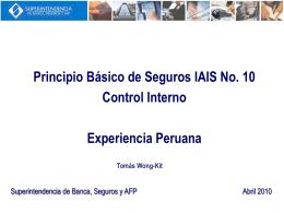 PBS N°10 Control Interno