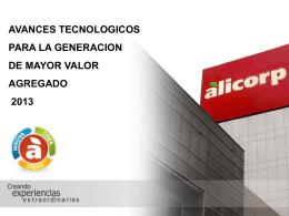 Quinua Alicorp - Sierra Exportadora