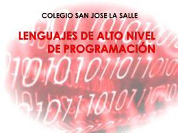 lenguaje alto programacion
