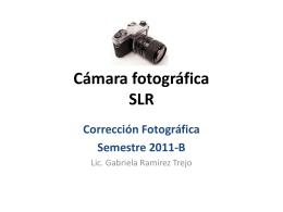 Diapositiva 1 - Corrección Fotográfica