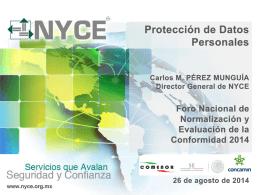 Certificación en protección de datos personales