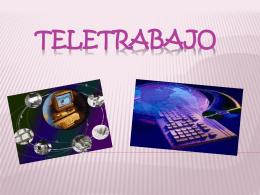 Teletrabajo - aprendizaje-organizacional