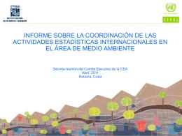 estudio CEPAL-INEGI - Oficina Nacional de Estadísticas