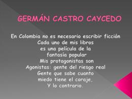 Germán Castro Caicedo
