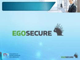 Presentación Comercial EgoSecure