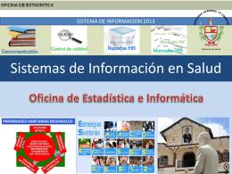Sistemas de Información en Salud - CMP
