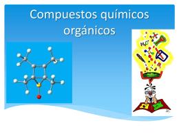 CLASE 10. COMPUESTOS ORGANICOS