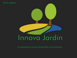 Diapositive 1 - Innova Jardín