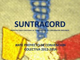 SUNTRACORD SINDICATO UNICO NACIONAL