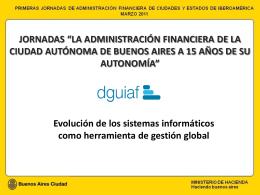 Unidad Informática - Ministerio de Hacienda