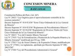 concesión Minera (943844)