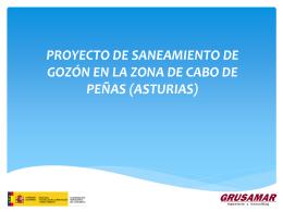 ZONAS - Saneamiento Gozón
