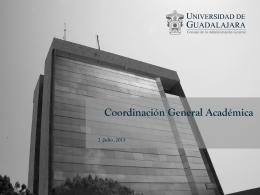 2.- Coordinación General Académica