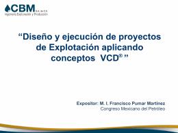 03Diseño y ejecucion Proyectos Explotacion VCD 2011