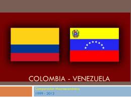 3° Presentación - Colombia Venezuela