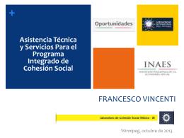 + Cohesión Social