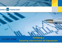 Forfaiting - Cámara de Comercio de Lima