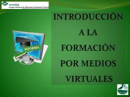 introducción a la formación por medios virtuales siforma