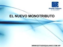 Cambios en el Monotributo - Estudio Quijano & Asociados