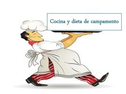 Cocina y dieta de campamento