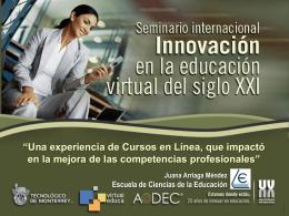 Slide 1 - Tecnológico de Monterrey