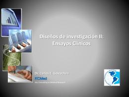 a. Investigación Clínica