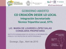 Funciones del STTL - Instituto Duranguense de Acceso a la