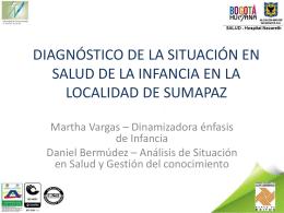 Diagnóstico y Estrategias para la infancia en la localidad